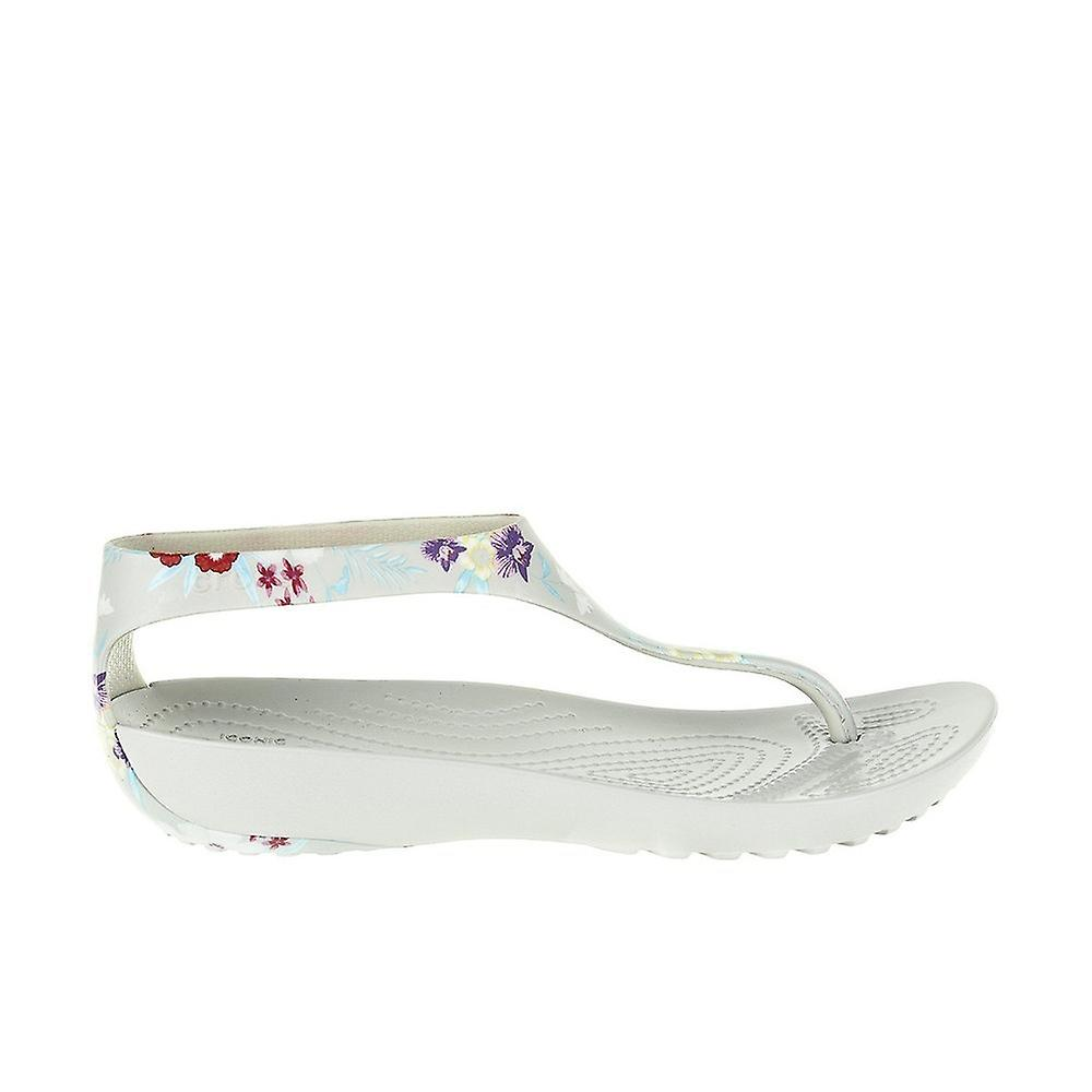 Crocs Serena Flip 20593299D universal summer women shoes MAaxh