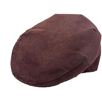 Mens Ladies Adult Classic Country Style Cotton Corduroy British Made Flat Cap