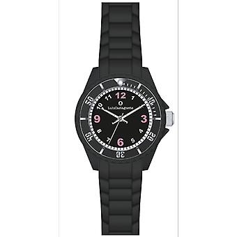 Shows Lulu Castanet 38868 watches - watch Silicone black girl