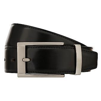 MONTI GRAZ Belt Men's Belt Leather Belt Black 8489