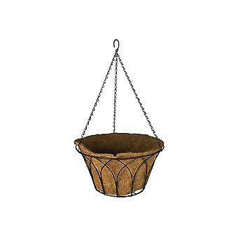 Garden Pride Gothic Hanging Basket - Round