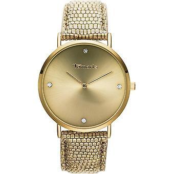 Tamaris - wristwatch - Berit - DAU 40mm - gold - ladies - TW072 - gold olive