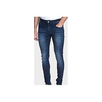 883 politie Deegan skinny fit Dark wash jeans