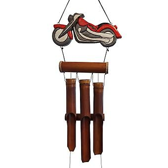 Motorcycle Bamboo Wind Chime
