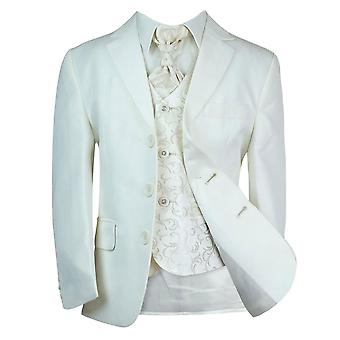 New Boys All in One Cream Wedding Suit, Party, Prom, Communion Suit by Milano