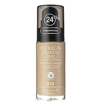 Revlon Colorstay Make-Up per la combinazione / Pelle Oleosa 310 Caldo dorato 30ml