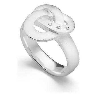 Bastian Inverun Ring Sterling Silver 12663 Ring Size 58 (18.5mm)