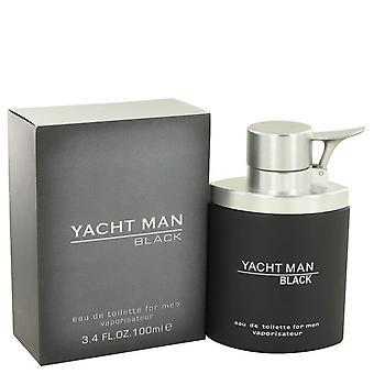 Yacht Man Black By Myrurgia EDT Spray 100ml