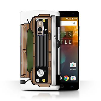 STUFF4 Case/Cover for OnePlus 2/Two/Rust Barn Find/Classic 4x4 Defender