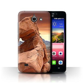 STUFF4 Hülle/Abdeckung für Huawei Ascend Y550 LTE/Valley/State of Nevada