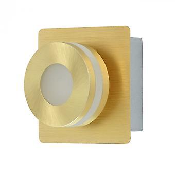 Techno de oro pared 1 luz de