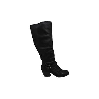 Bare Traps Womens ROZ 2 Fabric Almond Toe Knee High Fashion Boots