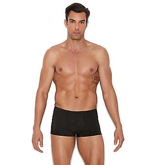 Mens Lycra Black Boxer Brief Underwear