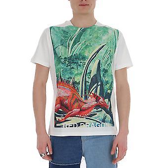 Valentino Tv0mg06p69h83m Hombres's Camiseta Multicolor Algodón