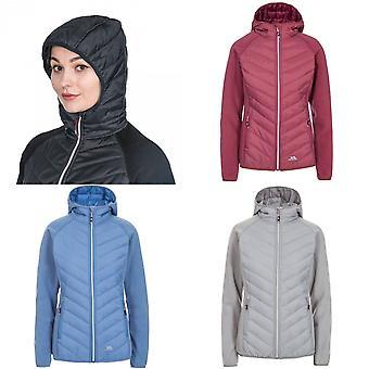 Trespass Womens/Ladies Boardwalk Padded Hooded Fleece Jacket