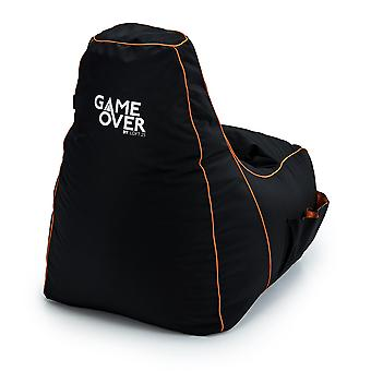 Portal Jump Game Over 8 Bit Kids Gaming High Back Chair Bean Bag Children's Gamer Xbox PS4