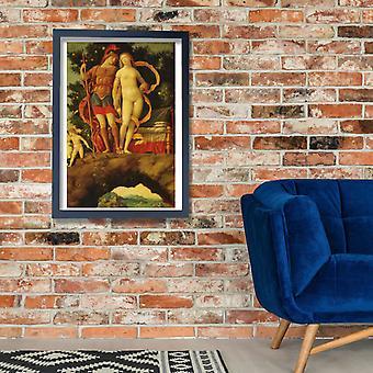 Andrea Mantegna - Mantegna parnaso dettaglio affiche impression Giclée