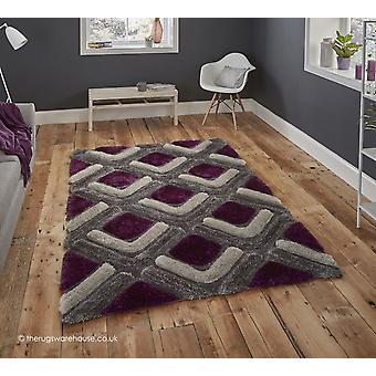 Oscar grå lilla tæppe
