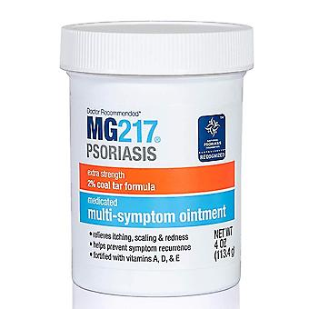 Mg217 psoriasis medicated multi-symptom ointment, 4 oz