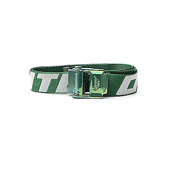 Off-white Omrb035s20f420414001 Men's Green Nylon Belt