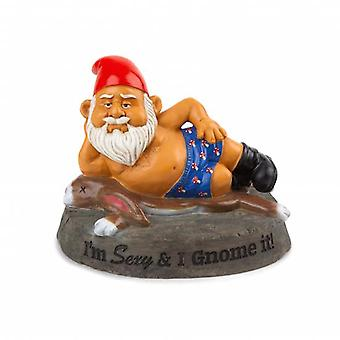 Bigmouth the hot stuff garden gnome