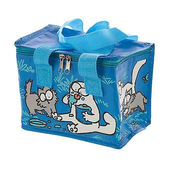 Simon's Cat and Kitten Blue Cool Bag