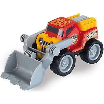 Theo Klein Hot Wheels Loader Scale 1:24 Toy with Functional Loader with Tilt For