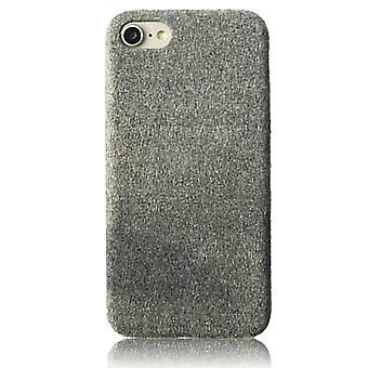 Plysj Grå Veske - iPhone SE (2020)
