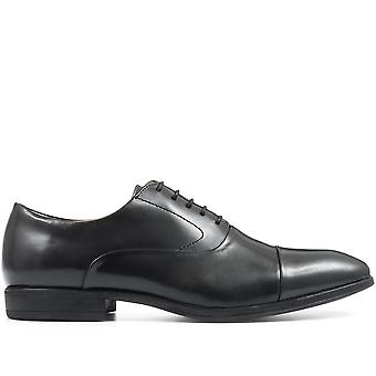 Steptronic Mens Factor Leather Oxford Lace-Up Shoe