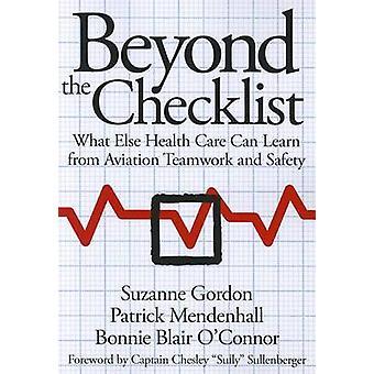 Utöver checklistan - vad vården kan lära sig från luftfarten T