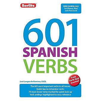 Berlitz 601 Verbs Spanish by Berlitz Publishing