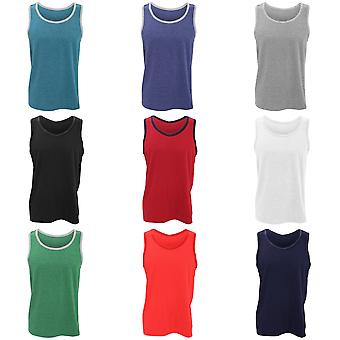 Anvil Herrmode Basic Tank Top / ärmlös väst