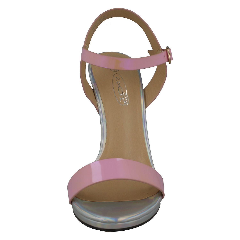 Flekk På Kvinner/ladies High Heel Mule Sandaler