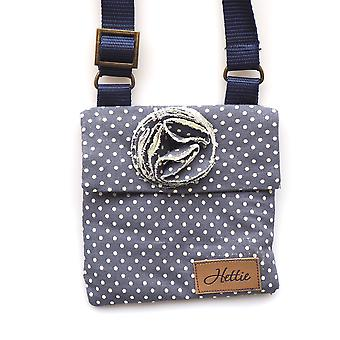 Imogen Children's handbag denim spot
