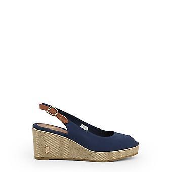 Zapatos de cuñas de mujer ua36055