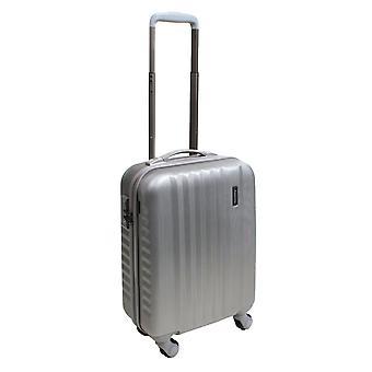March15 Ribbon SE Handbagage Trolley S, 4 wielen, 55 cm, 40 L, zilver