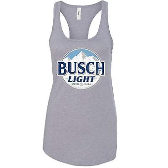 Busch Light Grey Ladies Tank Top