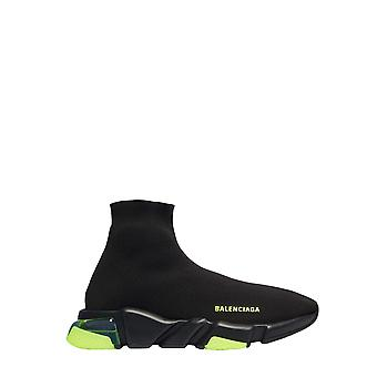 Balenciaga 607544w05gj1048 Heren's Black Fabric Sneakers