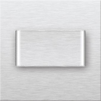 Dominique Lámpara Incorporada Color Cromo en Acero Inoxidable, L7.5xP4.5xA7.5 cm