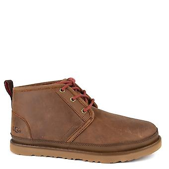 UGG Men's Neumel Grizzly 'brown' Leather Boot