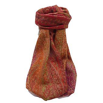 Muffler Scarf 7583 in Fine Pashmina Wool Heritage Range by Pashmina & Silk