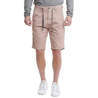 Funky Buddha Men's Chino Shorts In Plain Pattern