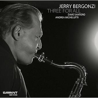 Jerry Bergonzi - trois pour toute importation USA [CD]