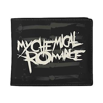 My Chemical Romance Wallet Black Parade Band Logo new Official Black Bifold