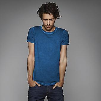 B&C Denim Mens Plug In Short Sleeve T-Shirt