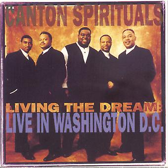 Canton Spirituals - Living the Dream-Live in Washi [CD] USA import