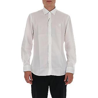 Burberry 8032308a1464 Men's White Cotton Shirt