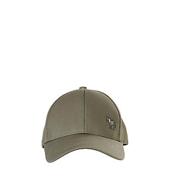 Ps By Paul Smith M2a987cbzebra63 Men's Green Cotton Hat