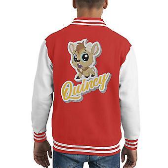 Littlest Pet Shop Quincy Kid's Varsity Jacket