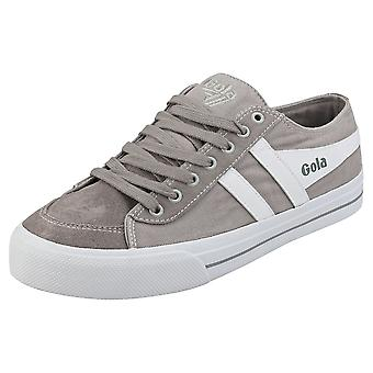 Gola Quota 2 Mens Casual Trainers in Light Grey White